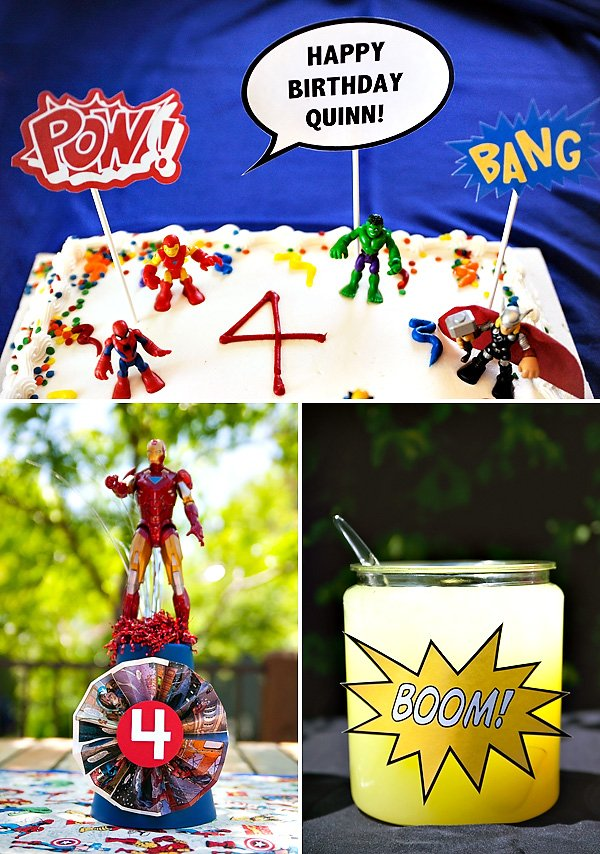 Avengers Birthday Party