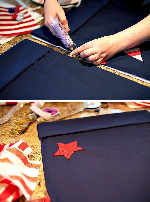 patriotic gunny sack diy tutorial