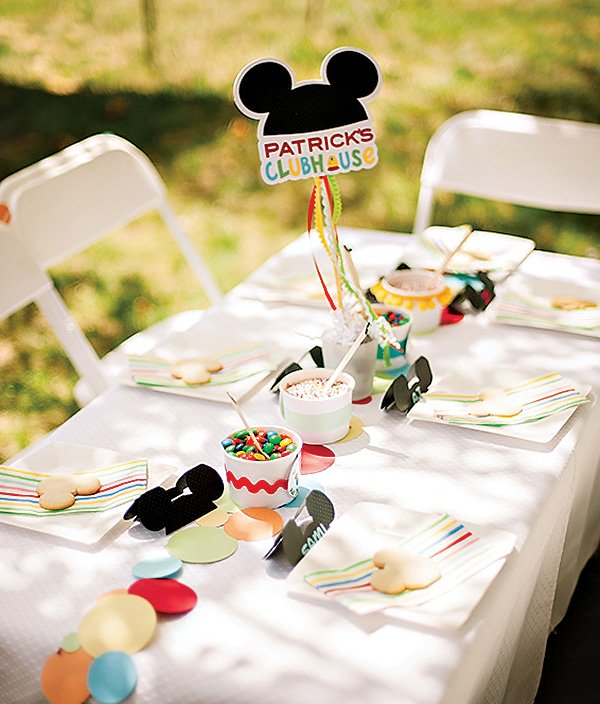 mickey mouse cookie decorating activity
