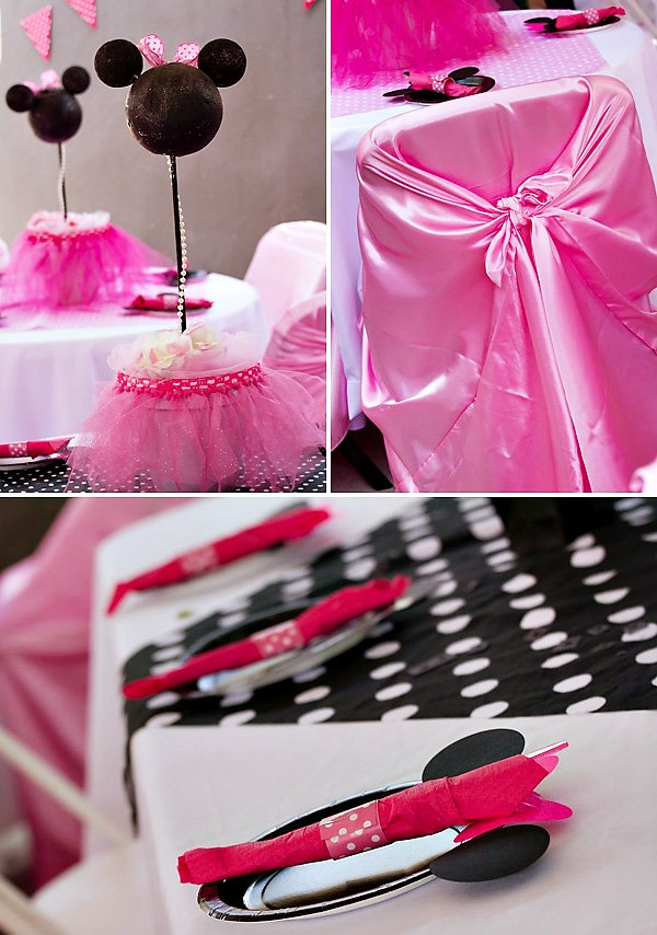 Minnie Mouse Place Settings