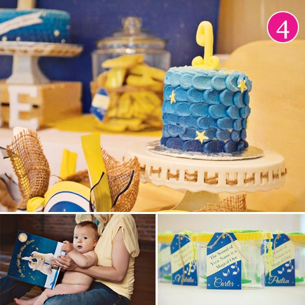 Starry First Birthday Party