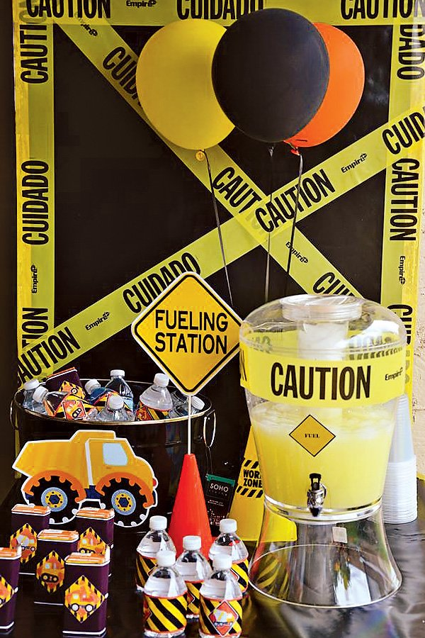 Dangerously Cute Construction Party Ideas  Hostess