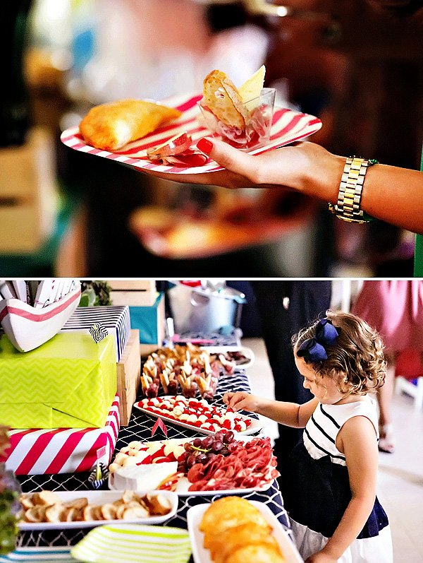 Nautical Food Table