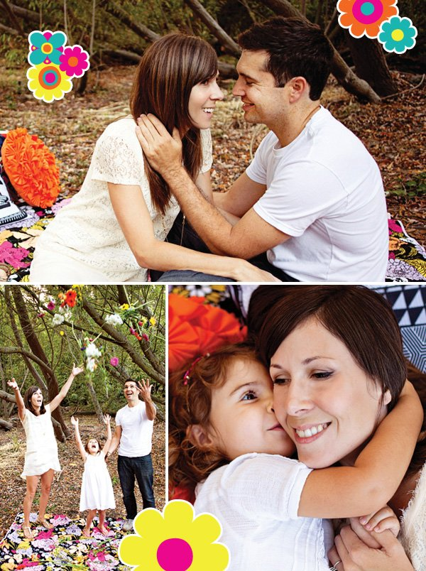 family flower pictures