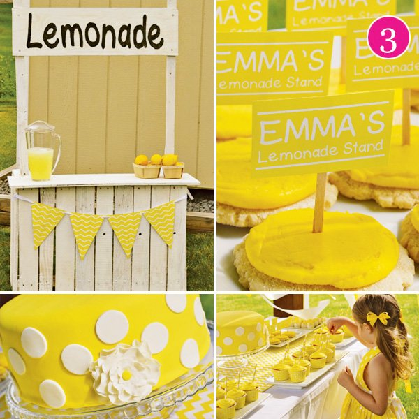 Yellow Lemonade Stand