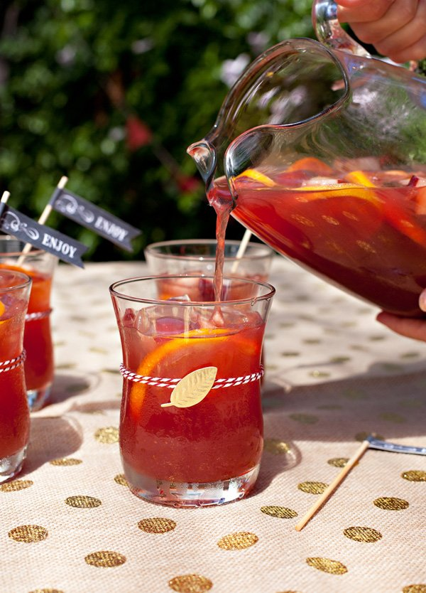 Sparkling Harvest Punch Recipe