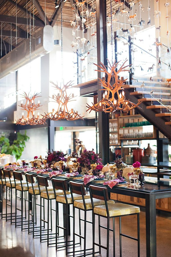 a modern glam thanksgiving by alchemy fine events