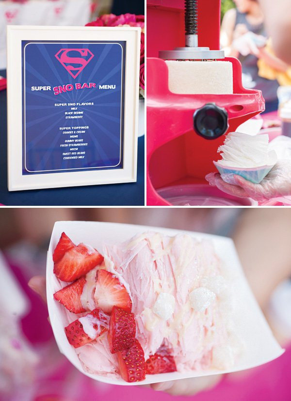shaved sno bar for party catering