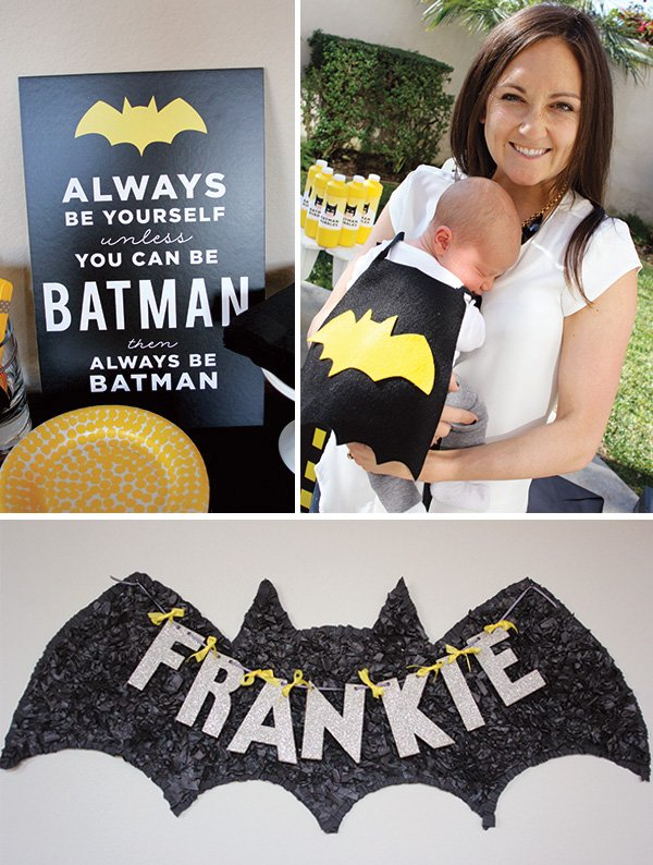 batman baby cape and outfit