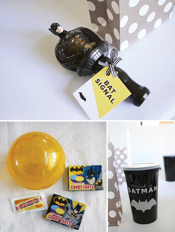batman party toys and favors