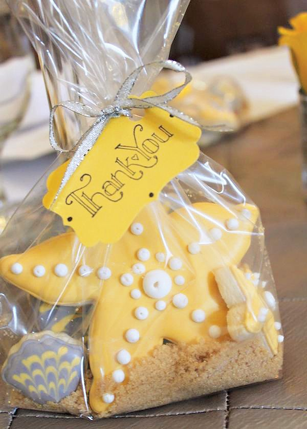 Lovely & Chic Beachy Bridal Shower // Hostess with the Mostess®