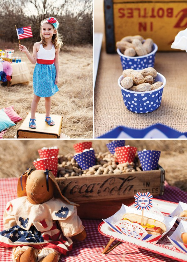4th of july party food and decor ideas