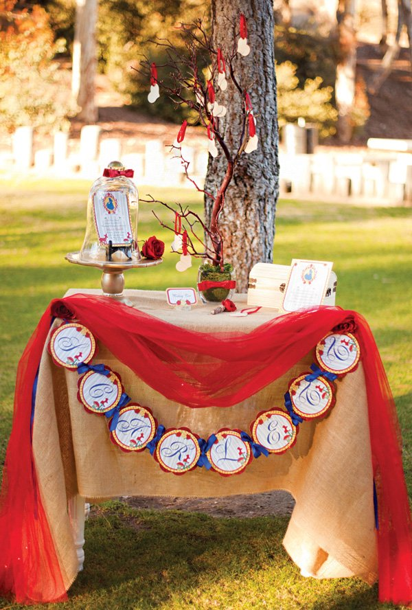 Snow White And The Seven Dwarfs In Woodland Birthday Party Hostess With The Mostess