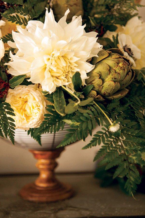 artichoke floral arrangement