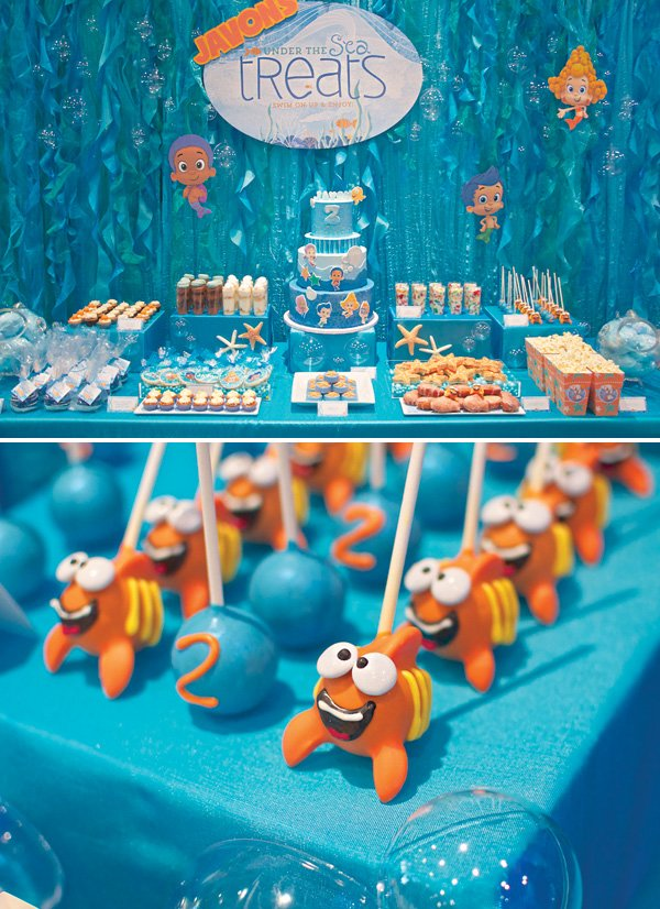 Under The Sea Bubble Guppies Birthday Party Hostess
