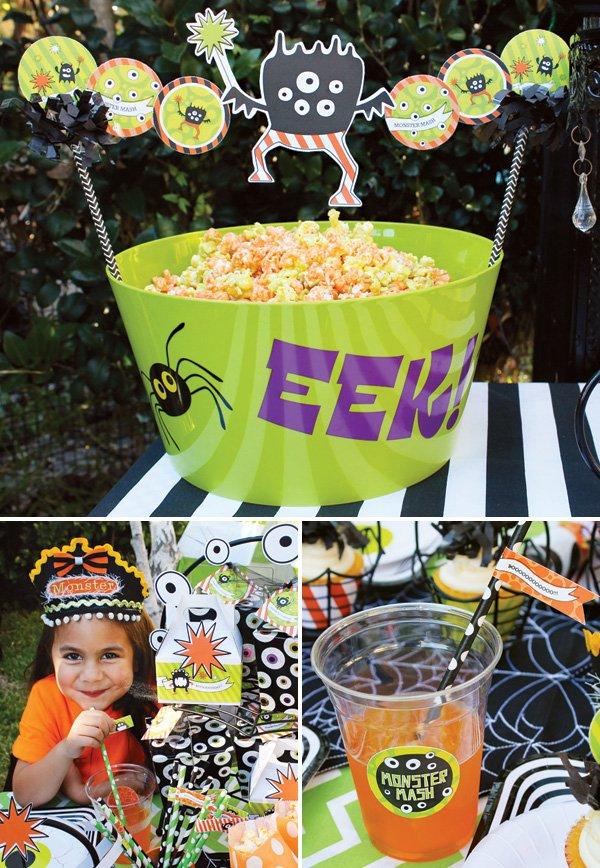 kids halloween party snack ideas