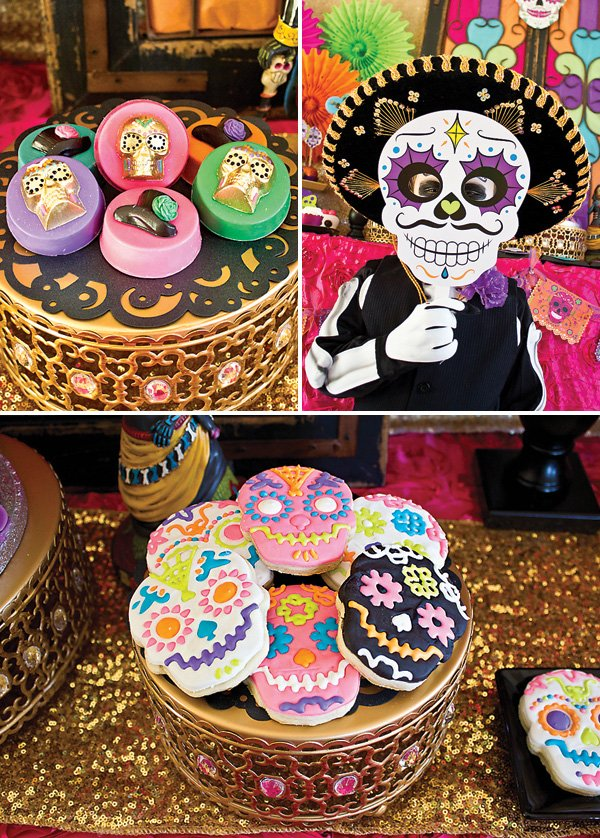 day of the dead cookies and desserts
