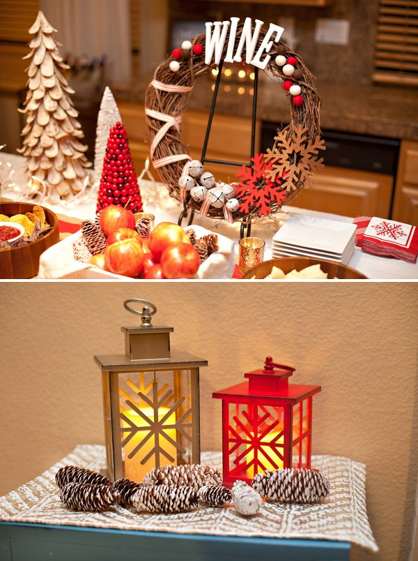rustic winter holiday decorations