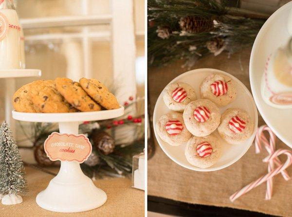 homemade cookies for santa