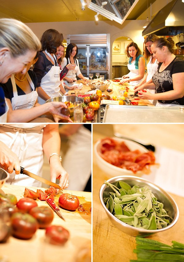 adult cooking party