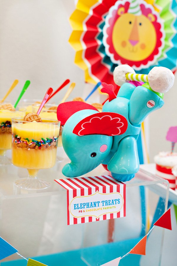 Circus Elephant Desserts