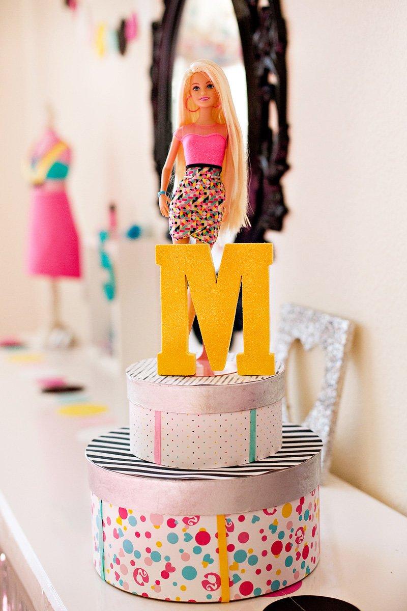 modern barbie birthday party ideas