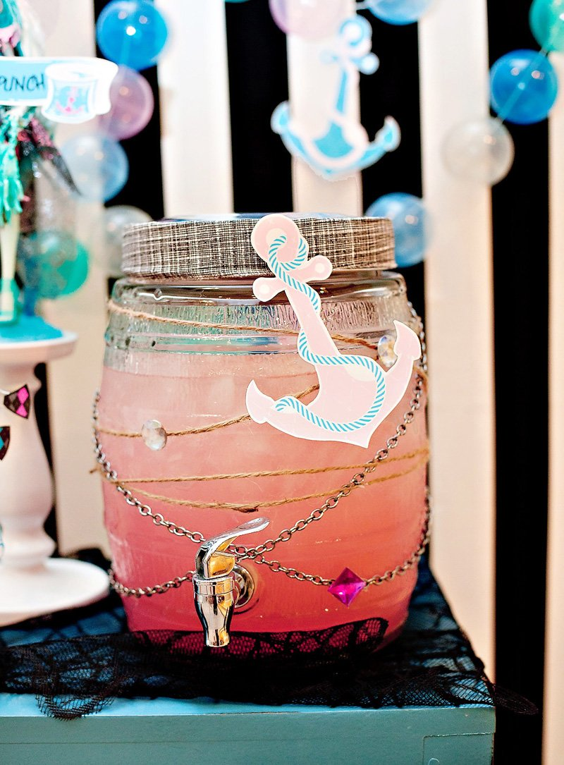 Pink Pirate Ghost Punch - Monster High Party