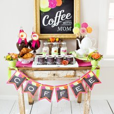 mothers day coffee morning