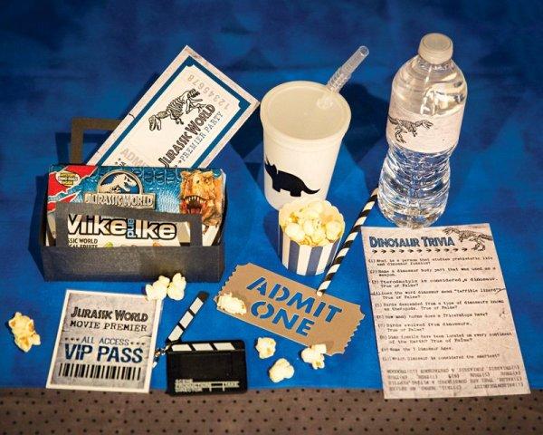 movie theater birthday party favor ideas