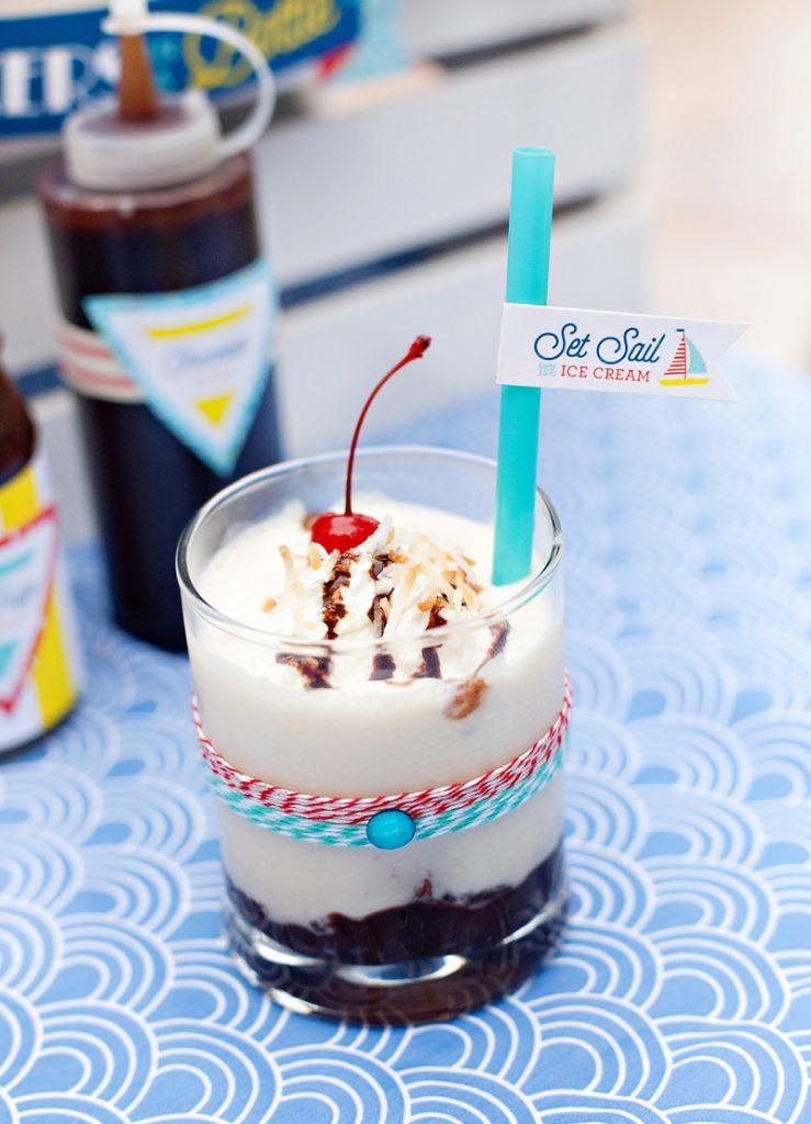 hot fudge sundae milkshake
