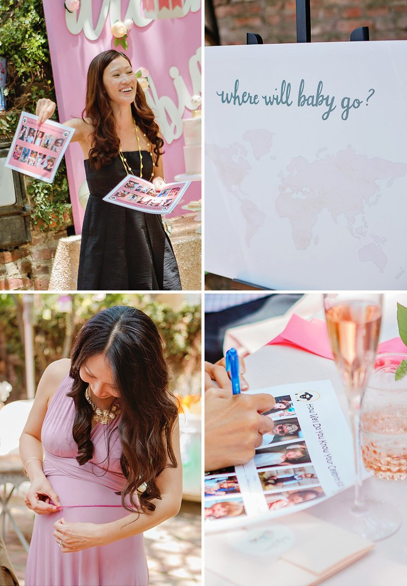 pink hot air balloon baby shower