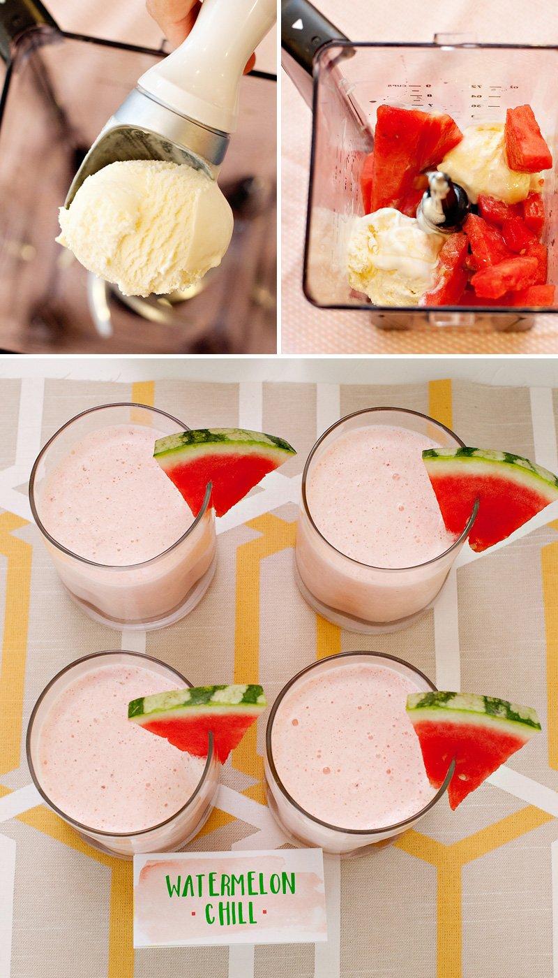 watermelon chill milkshake