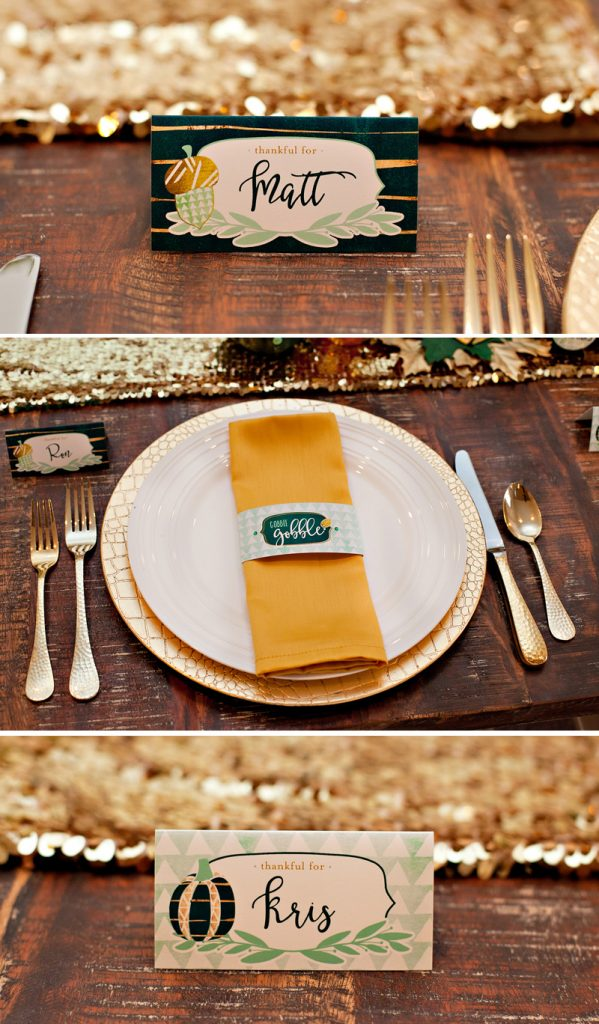 Free Thanksgiving Table Printables from Hostess with the Mostess