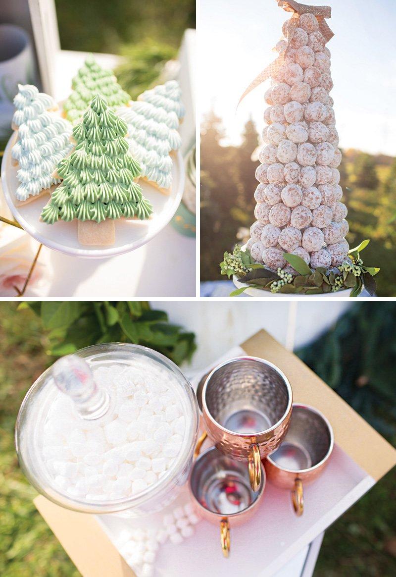 christmas tree party dessert ideas