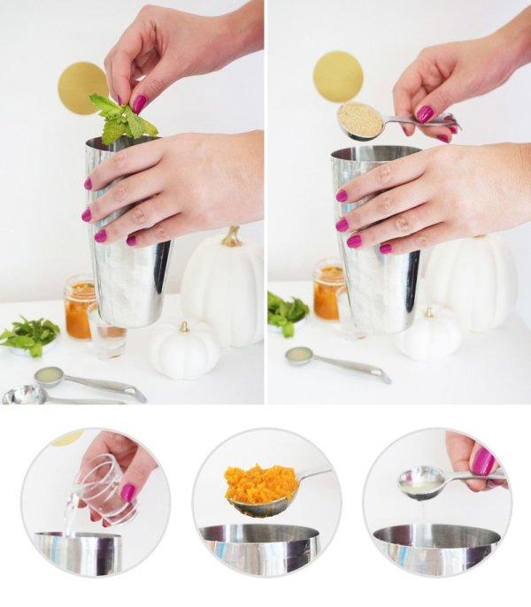 Pumpkin Spice Mojito Recipe