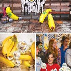 disco ball monkey themed birthday party