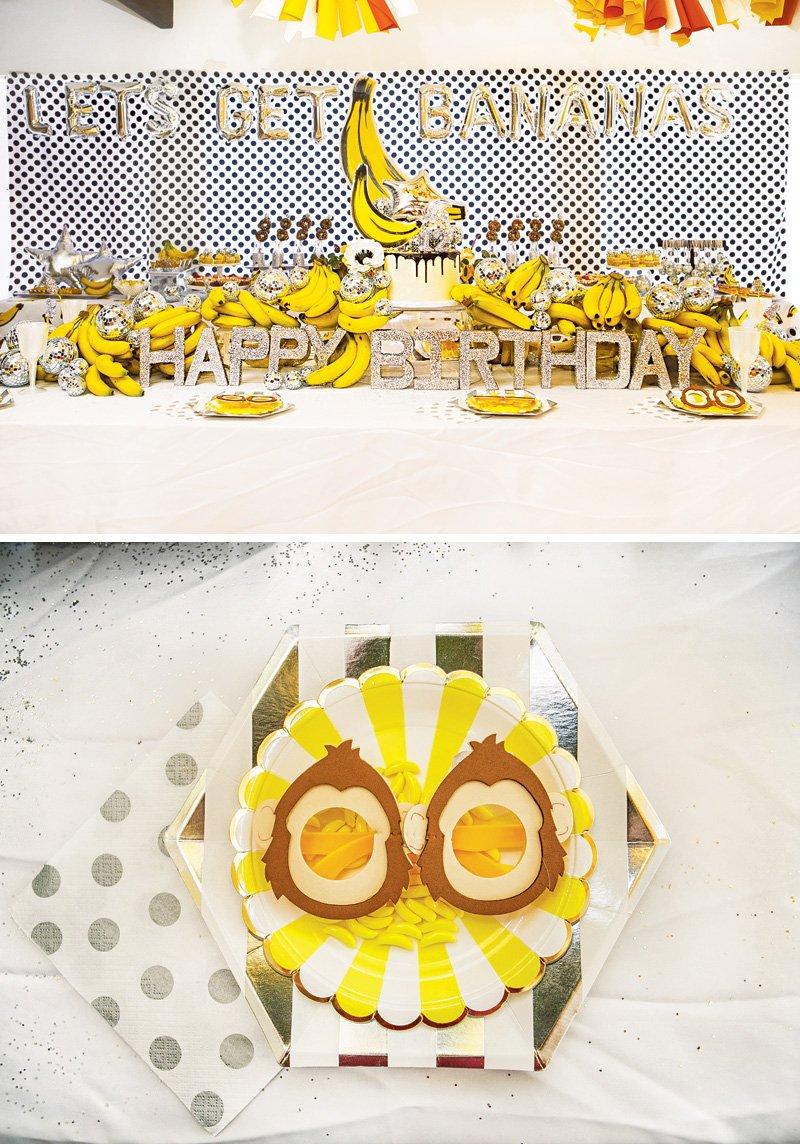 monkey party glasses