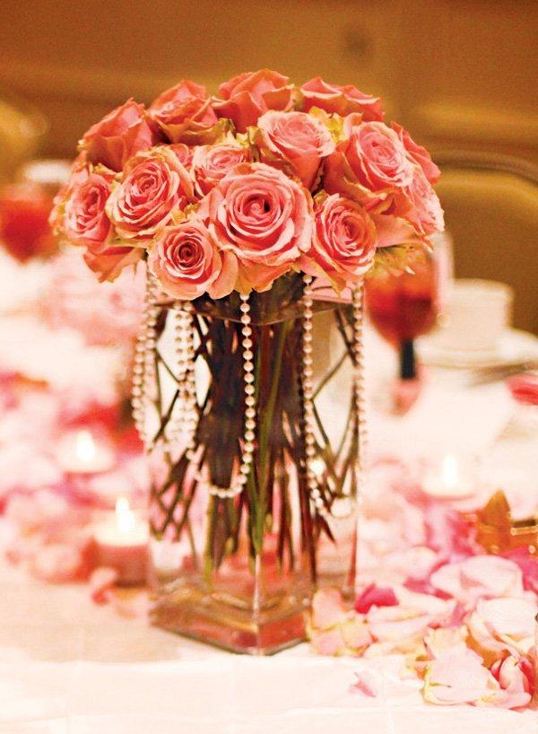 Formal  Elegant Pretty in Pink Baby Shower  Hostess
