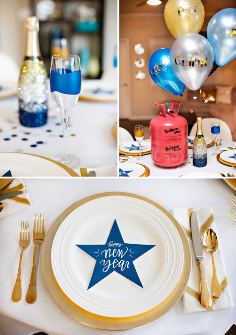 New Year's Party Ideas - Balloons and Free Printables