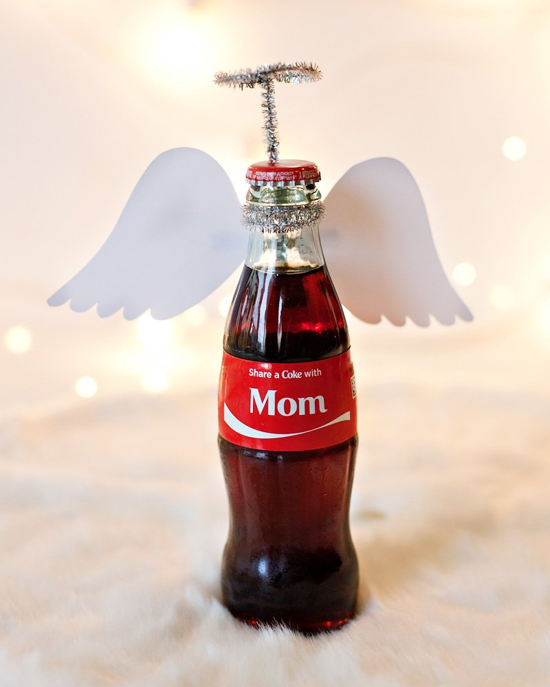 Holiday Angel Coca-Cola Bottle