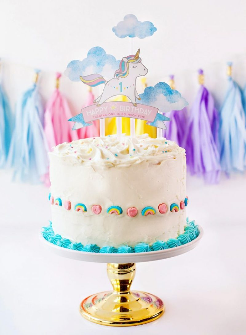 Simple & Sweet) Unicorn Birthday Party Ideas // Hostess with the ...