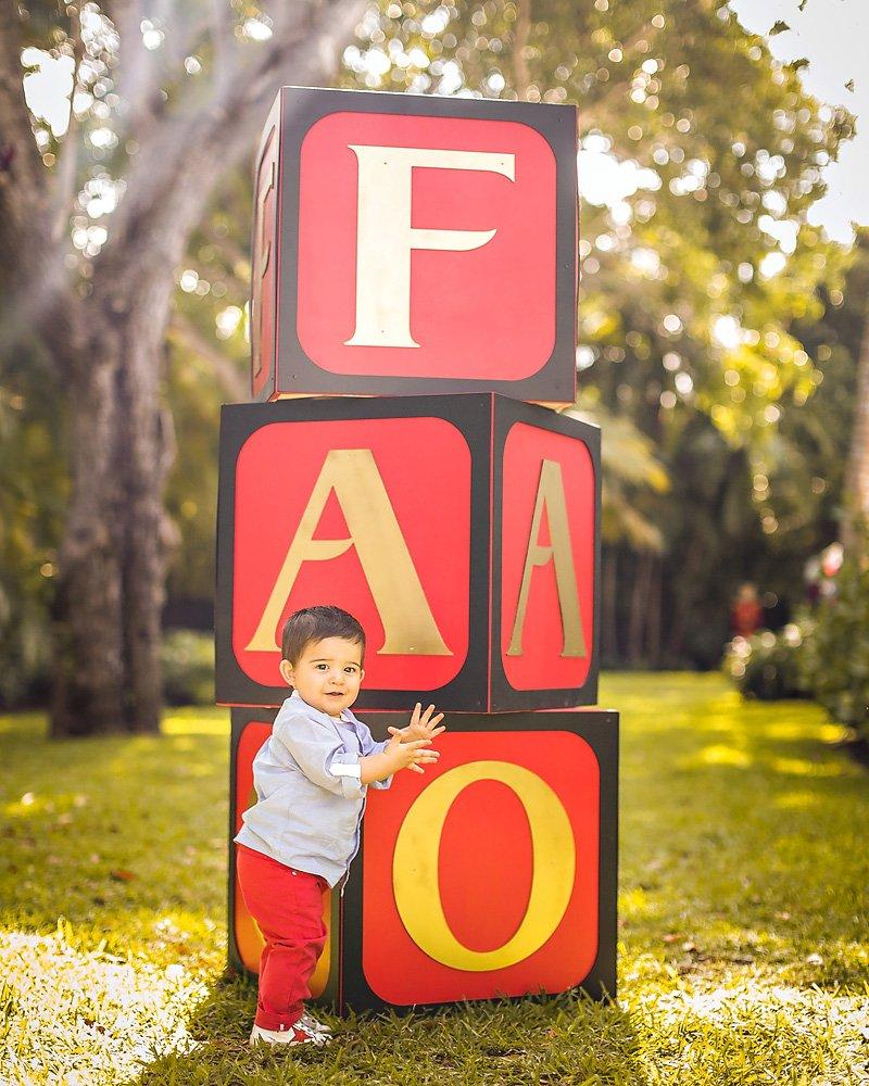 Giant Toy Blocks - FAO Schwarz Toy Party