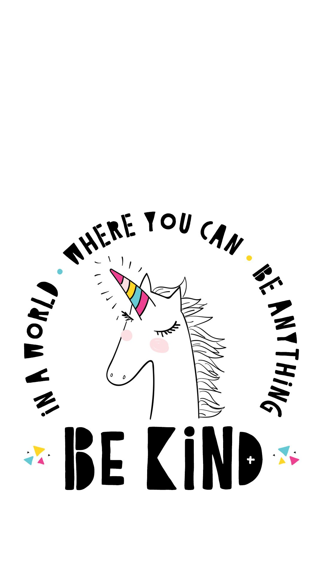 Unicorn Be Kind Quote