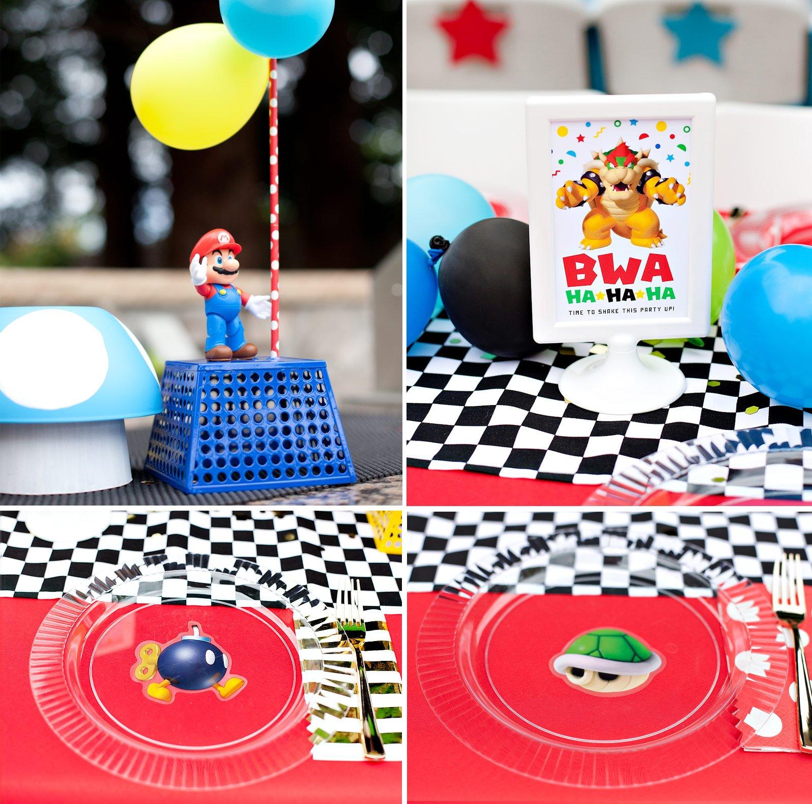 super mario inspired party fun 12