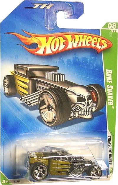 Bone Shaker Hot Wheels 2009 Super Treasure Hunt
