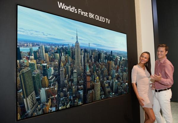 LG TV OLED da 8K