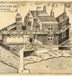 beaver the habitation de qu bec a french regime trading post  [ 1113 x 939 Pixel ]
