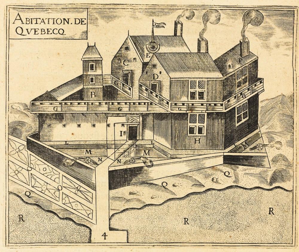 medium resolution of  beaver the habitation de qu bec a french regime trading post