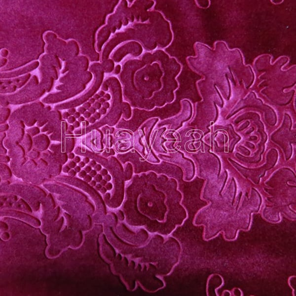 red fabric sofa studded leather color velvet floral upholstery