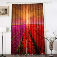 Upholstery Of Sofa Compact Sectional Sleeper 3d Digital Print Curtains